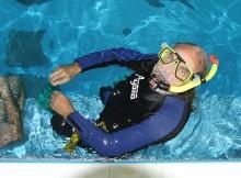 Potápěčské tréninky v květnu