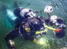 potápěčské tréninky – září