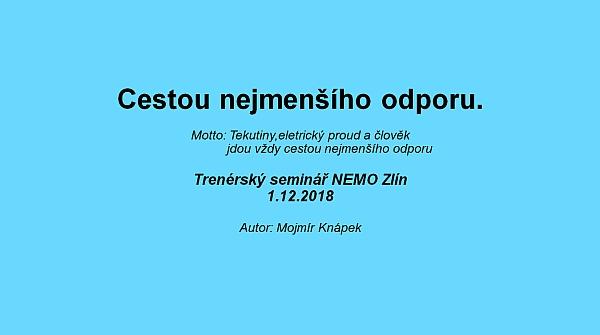 Trenérský seminář NEMO